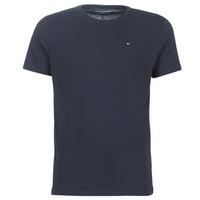 Textiel Heren T-shirts korte mouwen Tommy Hilfiger COTTON ICON SLEEPWEAR-2S87904671 Marine