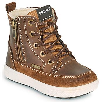 Schoenen Jongens Laarzen Primigi BARTH GORE-TEX Brown
