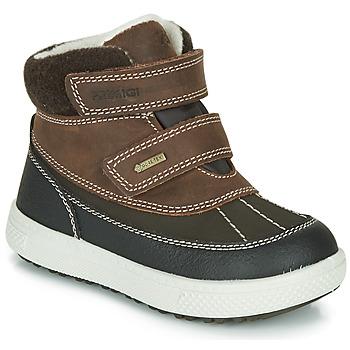 Schoenen Jongens Laarzen Primigi PEPYS GORE-TEX Brown