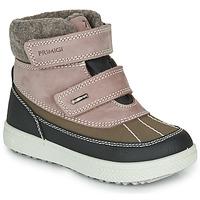 Schoenen Meisjes Laarzen Primigi PEPYS GORE-TEX Vieux / Roze / Brown