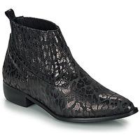 Schoenen Dames Laarzen Ippon Vintage GILL ARTY Zwart