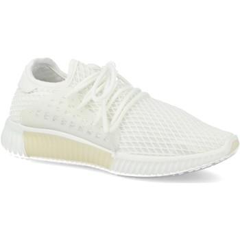 Schoenen Dames Lage sneakers Suncolor AA611 Blanco