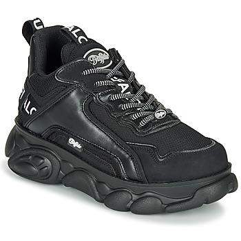 Schoenen Dames Lage sneakers Buffalo CHAI Zwart / Wit