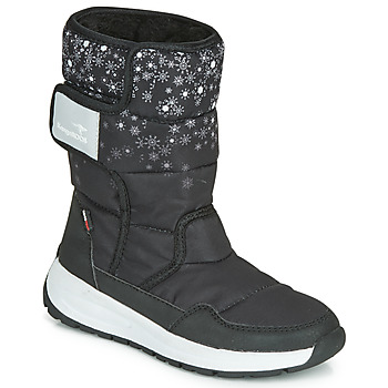 Schoenen Dames Regenlaarzen Kangaroos K-FLUFF RTX Zwart / Grijs