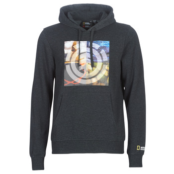Textiel Heren Sweaters / Sweatshirts Element QUADRANT SEASONS HOOD Grijs