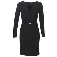 Textiel Dames Korte jurken Lauren Ralph Lauren ALEXIE Zwart
