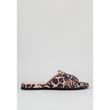 Schoenen Dames Leren slippers Unisa COLBY_KL Multicolour