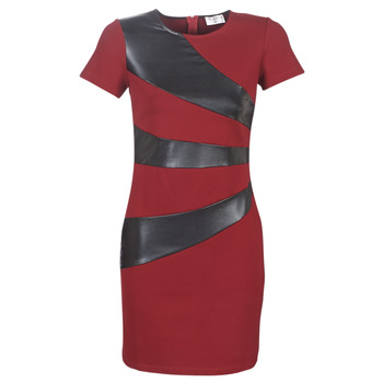 Textiel Dames Korte jurken Moony Mood LIVEO Bordeaux / Zwart