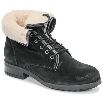Schoenen Dames Laarzen Casual Attitude LEILA Zwart