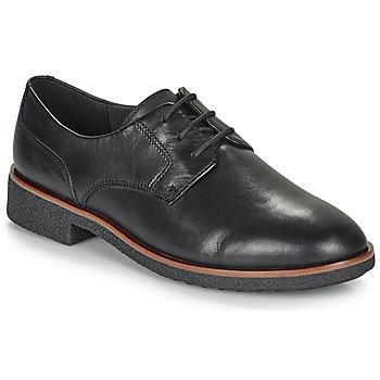 Schoenen Dames Derby Clarks GRIFFIN LANE Zwart