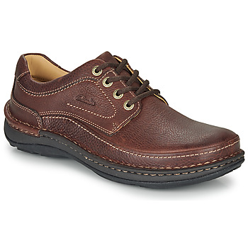 Schoenen Heren Derby Clarks NATURE THREE Brown