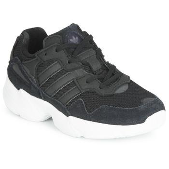 Schoenen Kinderen Lage sneakers adidas Originals YUNG-96 C Zwart