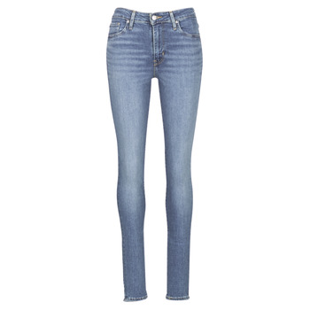 Textiel Dames Skinny Jeans Levi's 721 HIGH RISE SKINNY Los / Angeles / Zon