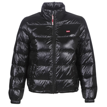 Textiel Dames Dons gevoerde jassen Levi's FRANCINE DOWN PCKBLE JKT Zwart