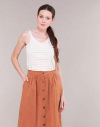 Textiel Dames Tops / Blousjes Betty London KATACEL Wit / Goud