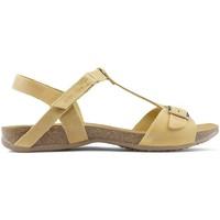 Schoenen Dames Sandalen / Open schoenen Interbios SANDALEN AFRODITE MUSTARD