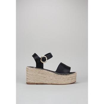 Schoenen Dames Sandalen / Open schoenen Senses & Shoes FABIOLA Zwart