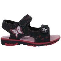 Schoenen Meisjes Sandalen / Open schoenen Kappa Blossom Noir, Bleu marine, Rose