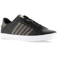 Schoenen Dames Lage sneakers K-Swiss Belmont SO Noir, Doré