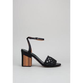 Schoenen Dames Sandalen / Open schoenen Krack Harmony WISTERIA Zwart
