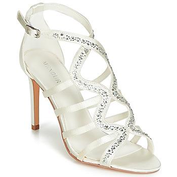 Schoenen Dames Sandalen / Open schoenen Menbur MAFAT Ivory