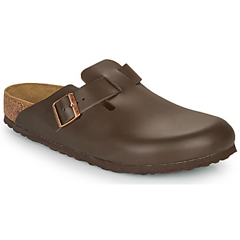 Schoenen Heren Klompen Birkenstock BOSTON SFB Brown