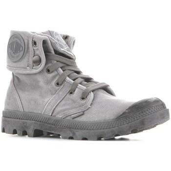 Schoenen Heren Hoge sneakers Palladium Manufacture Baggy Titanium High Rise Gris