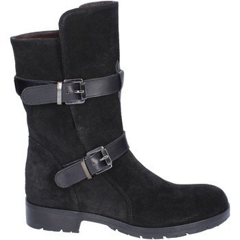 Schoenen Dames Hoge laarzen Triver Flight Bottines BR206 Noir