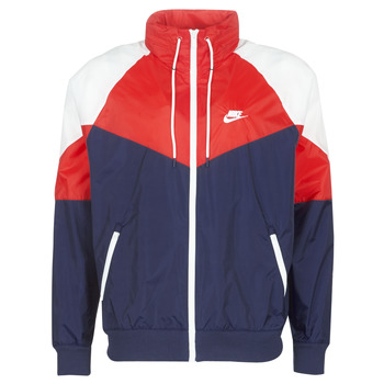 Textiel Heren Windjacken Nike M NSW HE WR JKT HD + Marine