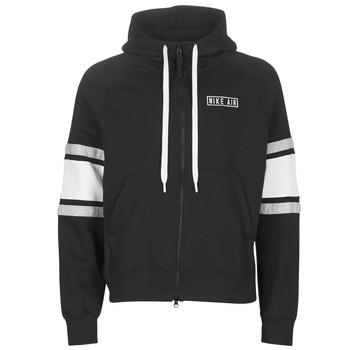 Textiel Heren Sweaters / Sweatshirts Nike M NSW NIKE AIR HOODIE FZ FLC Zwart