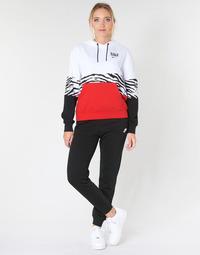 Textiel Dames Trainingsbroeken Nike W NSW ESSNTL PANT REG FLC Zwart