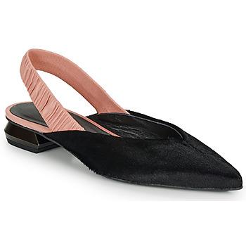 Schoenen Dames Ballerina's Heimstone SWEDES Zwart / Roze