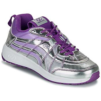 Schoenen Meisjes Schoenen met wieltjes Heelys NITRO Zilver / Violet