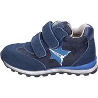Schoenen Jongens Lage sneakers Enrico Coveri Baskets BR254 Bleu
