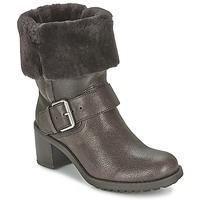Schoenen Dames Laarzen Clarks PILICO PLACE Brown