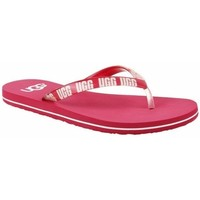 Schoenen Dames Slippers UGG Simi Graphic Rose