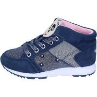 Schoenen Meisjes Hoge sneakers Lelli Kelly sneakers tessuto camoscio Blu