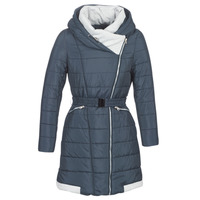 Textiel Dames Dons gevoerde jassen Casual Attitude LOLAPO Blauw / Marine
