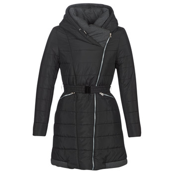 Textiel Dames Dons gevoerde jassen Casual Attitude LUCIOLE Zwart