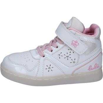 Schoenen Meisjes Hoge sneakers Lulu Baskets BR351 Blanc