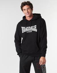 Textiel Heren Sweaters / Sweatshirts Lonsdale WOLTERTON Zwart