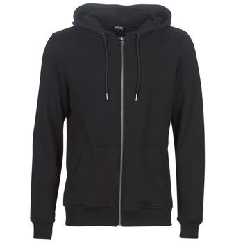 Textiel Heren Sweaters / Sweatshirts Urban Classics BASIC ZIP HOODY Zwart