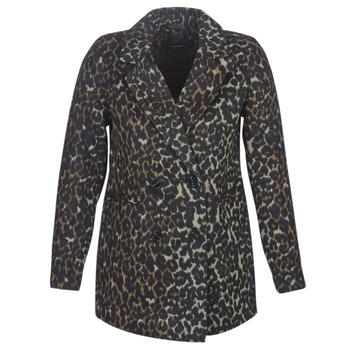 Textiel Dames Mantel jassen Vero Moda VMCOCOLEOPARD Brown