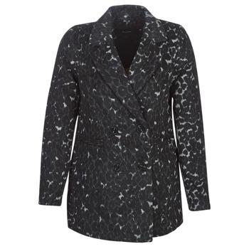 Textiel Dames Mantel jassen Vero Moda VMCOCOLEOPARD Grijs