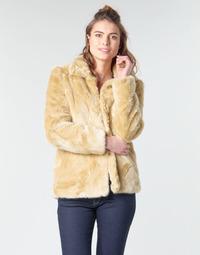 Textiel Dames Mantel jassen Vero Moda VMMINK Beige
