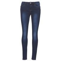 Textiel Dames Skinny jeans Vero Moda VMSEVEN Blauw / Donker
