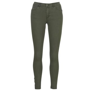 Textiel Dames 5 zakken broeken Vero Moda VMSEVEN Kaki