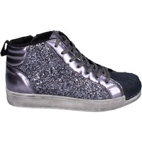 Schoenen Meisjes Hoge sneakers Holalà Baskets BR385 Gris