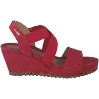 Schoenen Dames Sandalen / Open schoenen Mephisto GIULIANA Rood
