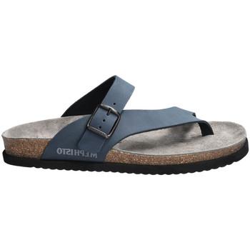 Schoenen Dames Sandalen / Open schoenen Mephisto NIELS Blauw
